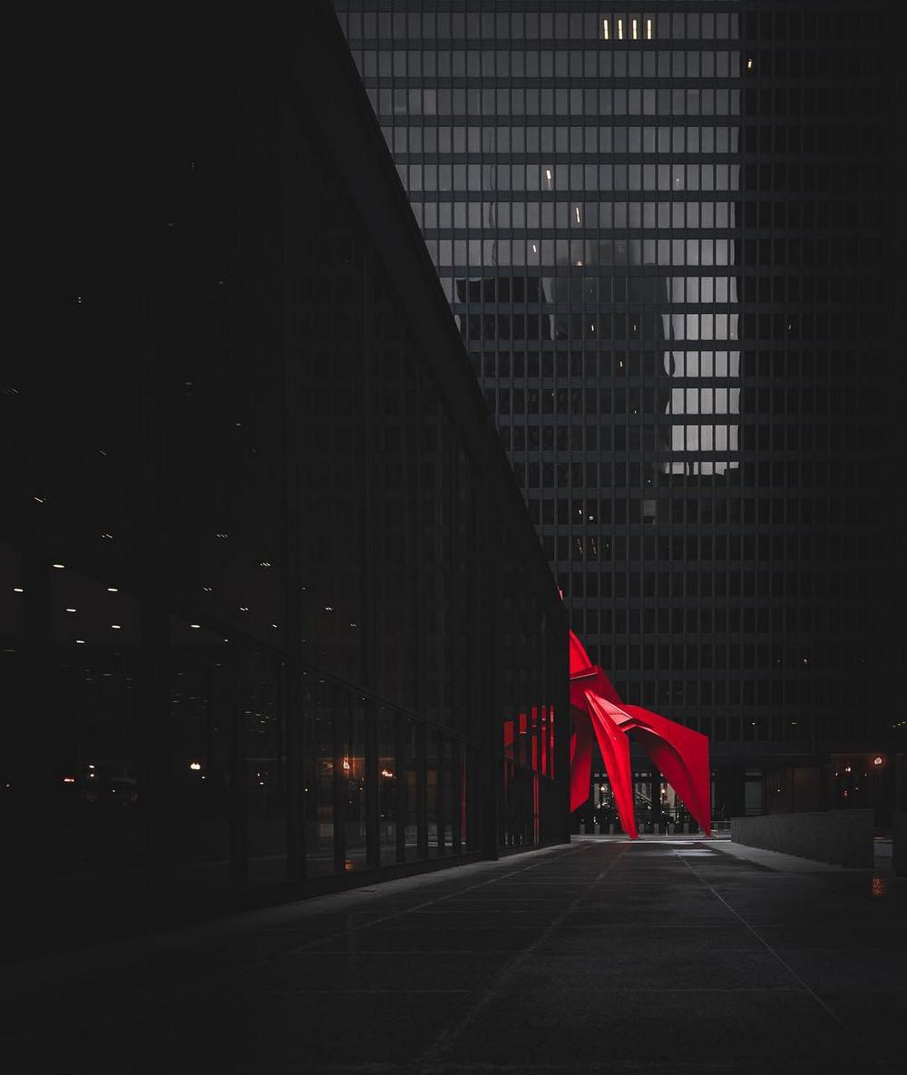 Хмурый Чикаго фотографа Майка Мейерса 9