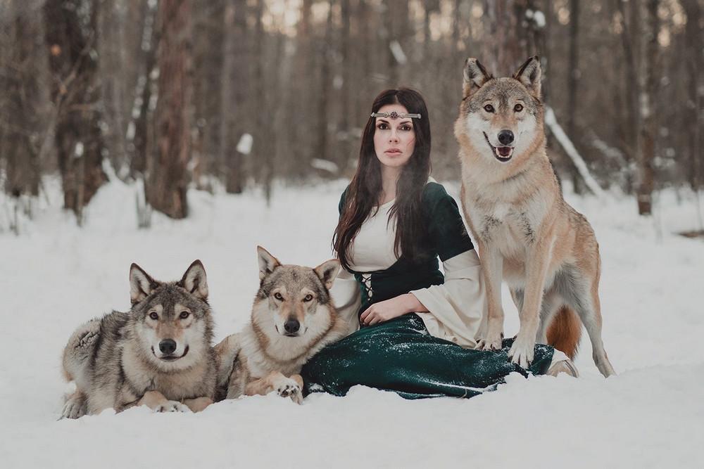 Фотограф Ольга Баранцева. Фотосессии с дикими животными и творческие портреты 11