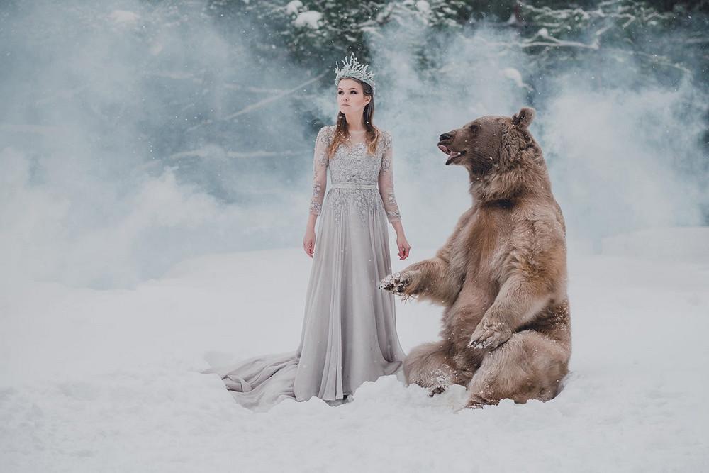 Фотограф Ольга Баранцева. Фотосессии с дикими животными и творческие портреты 12