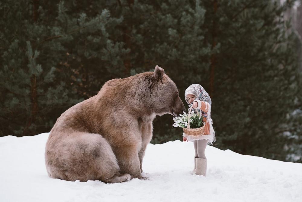 Фотограф Ольга Баранцева. Фотосессии с дикими животными и творческие портреты 13