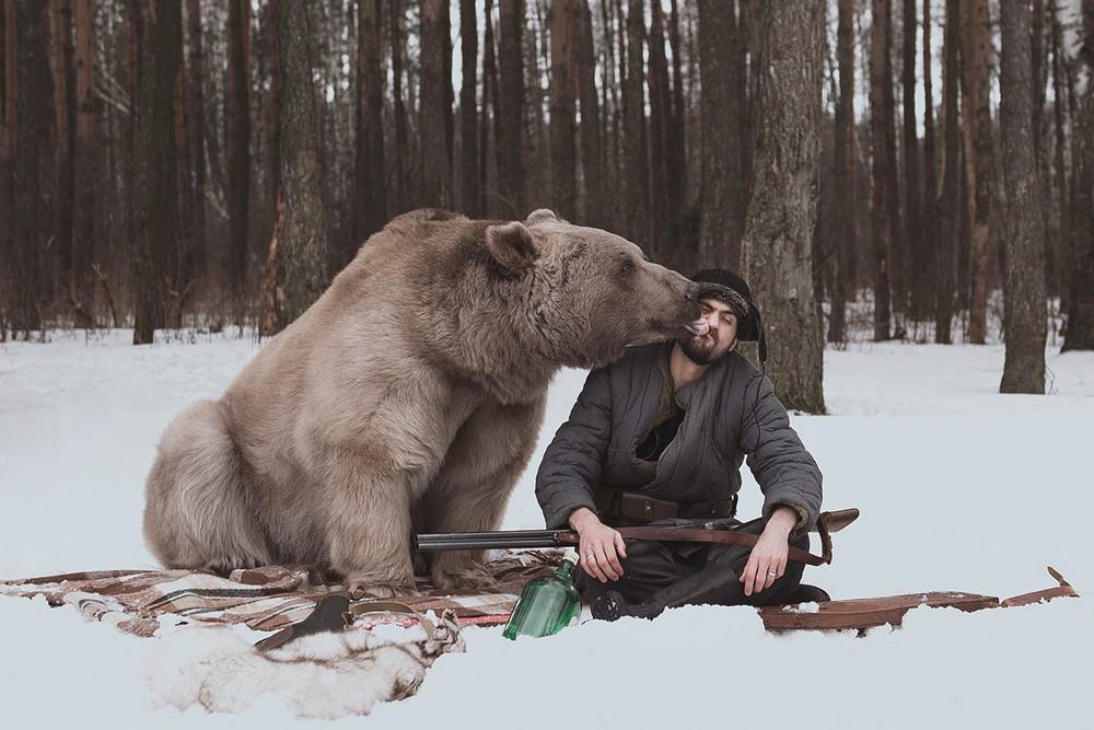Фотограф Ольга Баранцева. Фотосессии с дикими животными и творческие портреты 16