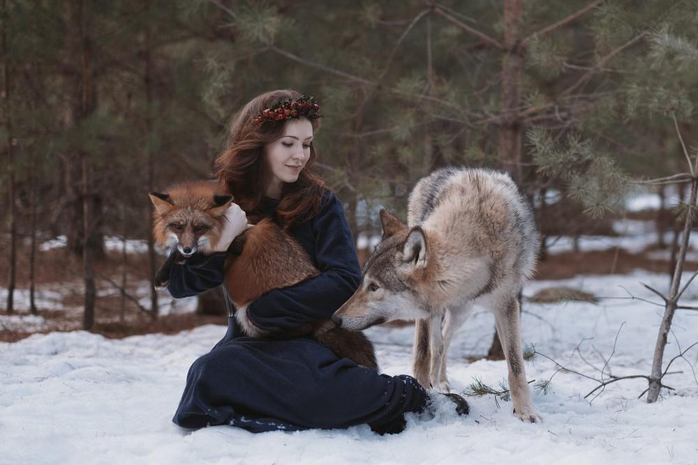 Фотограф Ольга Баранцева. Фотосессии с дикими животными и творческие портреты 17