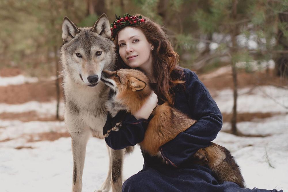 Фотограф Ольга Баранцева. Фотосессии с дикими животными и творческие портреты 21