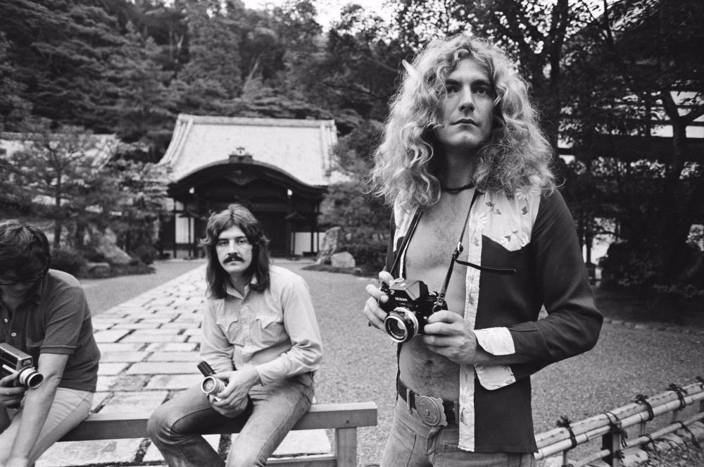 Like Led Zeppelin, Queen, David Bowie, and other rock stars traveled around Japan in the 1970s and 80s 11