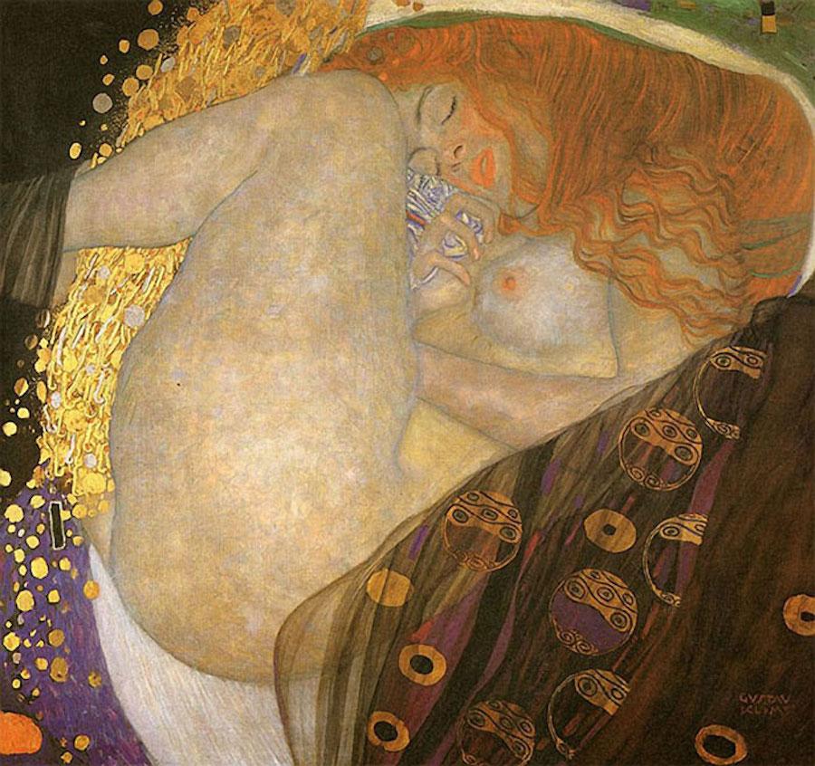 Фотограф Инге Прадер воссоздала золотые картины Густава Климта 5