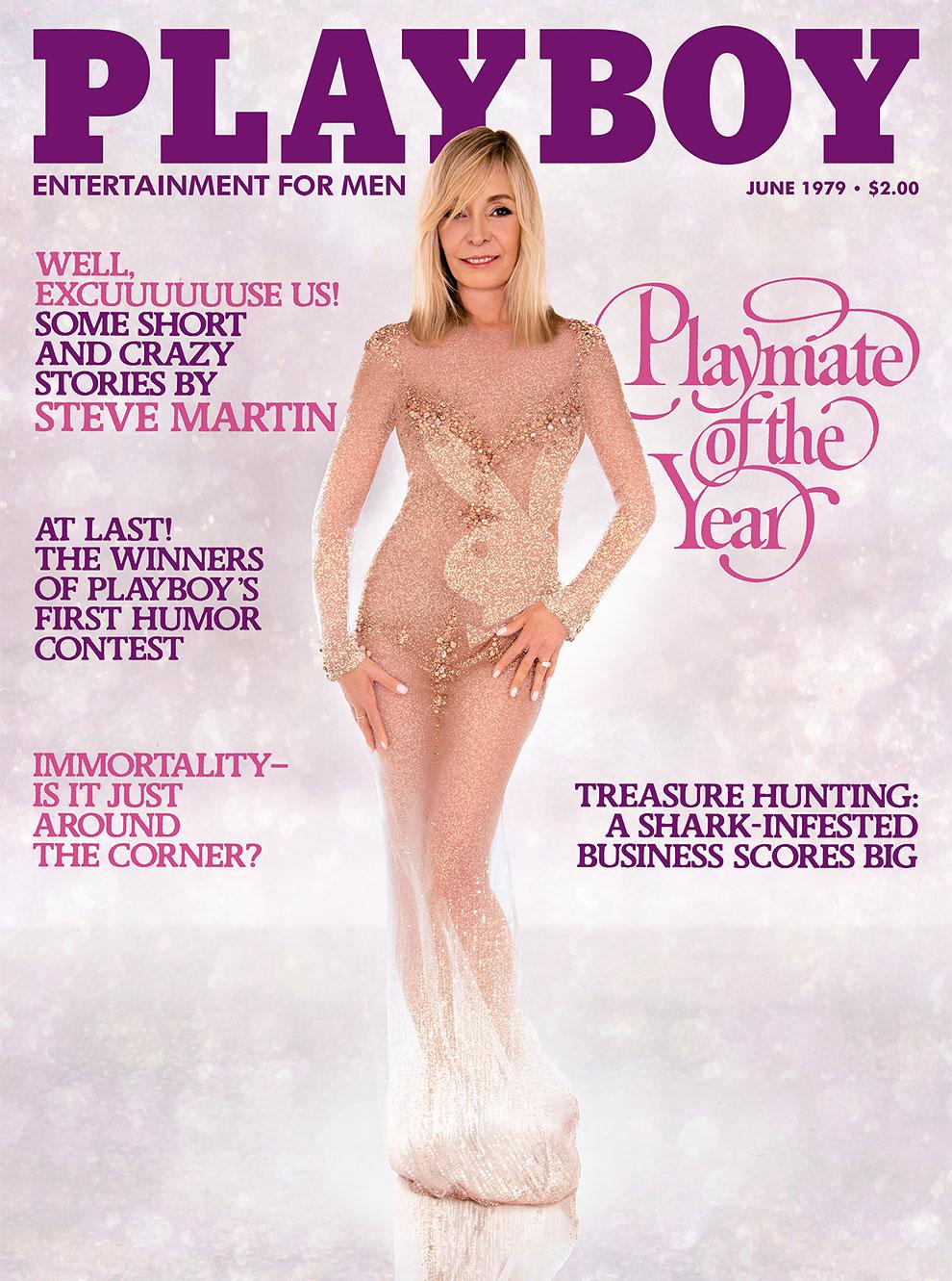 30 лет спустя: журнал Playboy воссоздал свои культовые обложки с теми же моделями 10