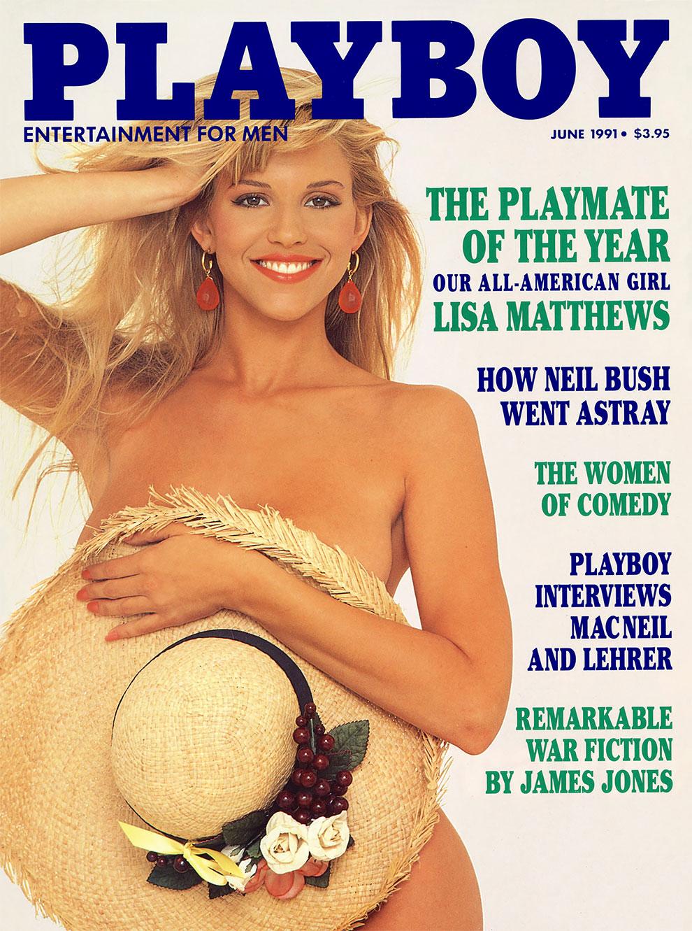30 лет спустя: журнал Playboy воссоздал свои культовые обложки с теми же моделями 13