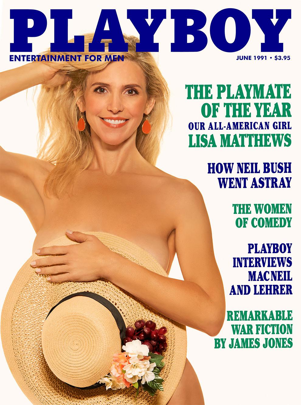 30 лет спустя: журнал Playboy воссоздал свои культовые обложки с теми же моделями 14