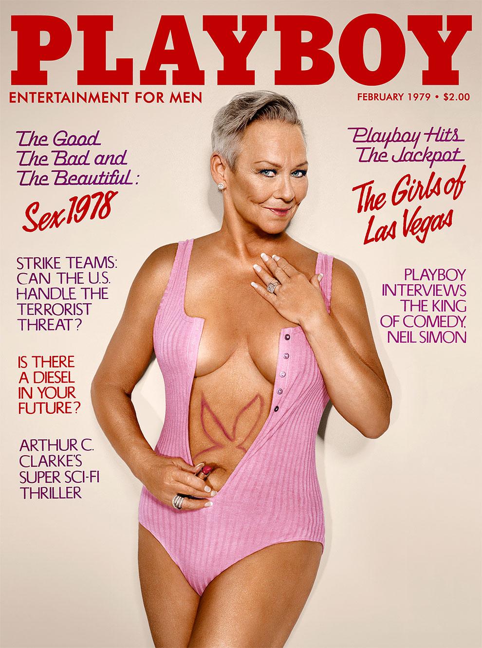 30 лет спустя: журнал Playboy воссоздал свои культовые обложки с теми же моделями 2