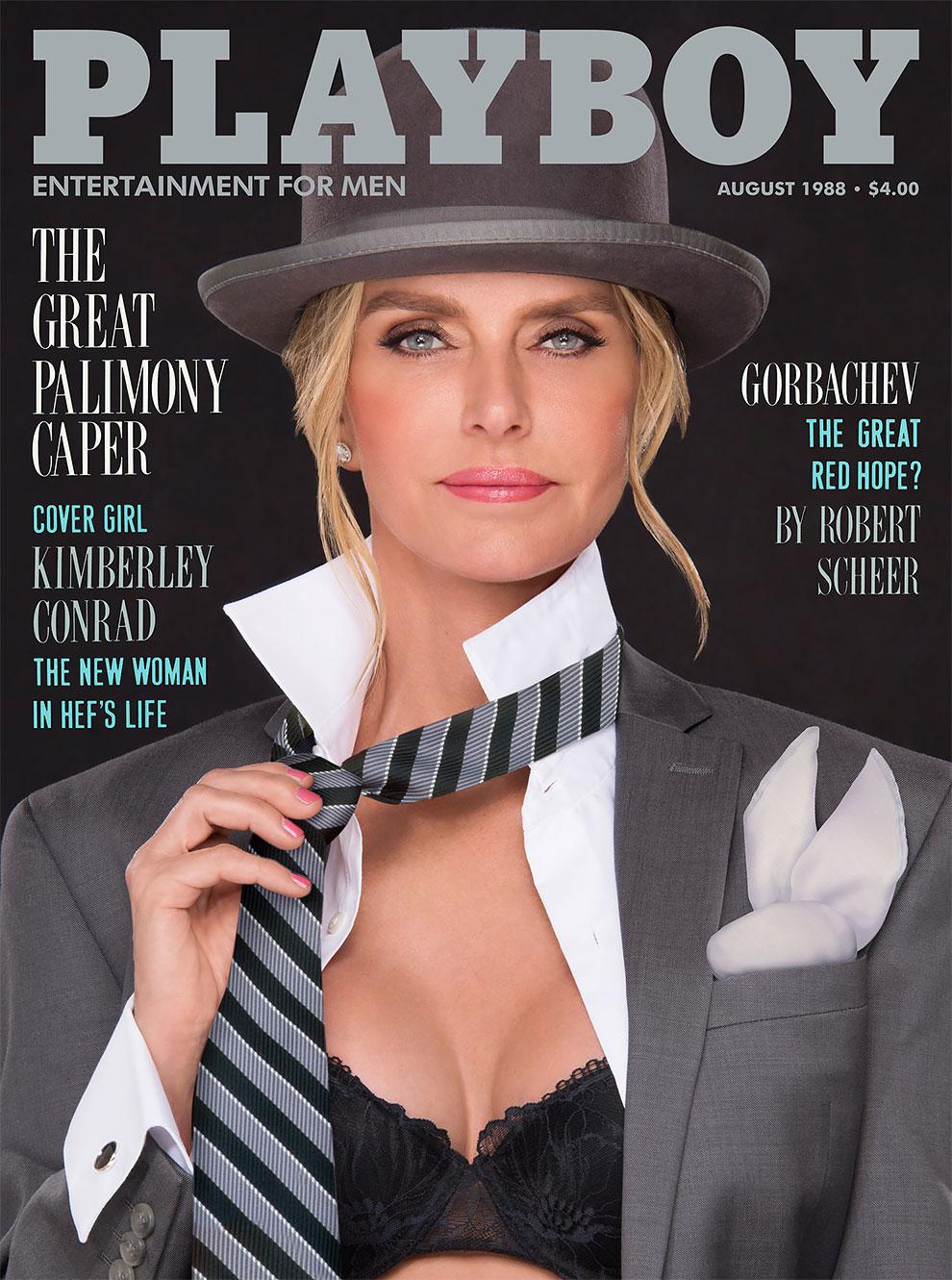 30 лет спустя: журнал Playboy воссоздал свои культовые обложки с теми же моделями 4