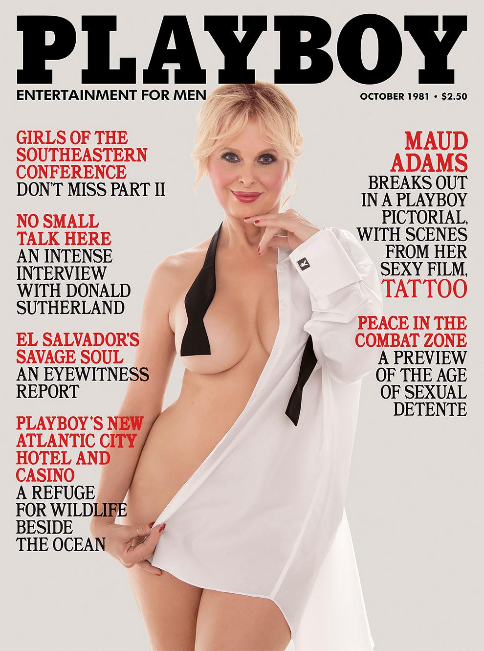 30 лет спустя: журнал Playboy воссоздал свои культовые обложки с теми же моделями 8