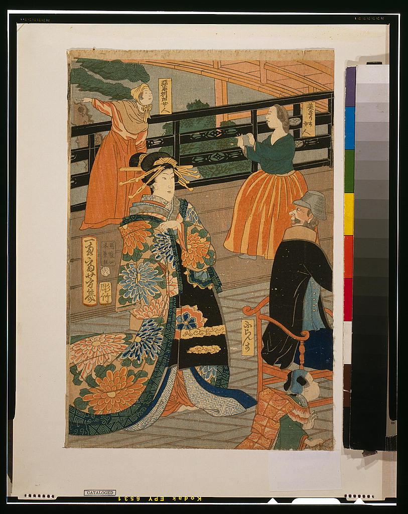 Более 2500 гравюр японских мастеров 1600-1915 годов можно скачивать бесплатно  1