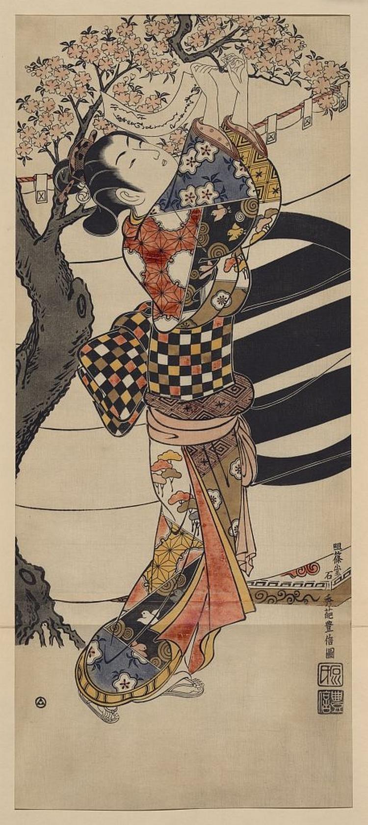 Более 2500 гравюр японских мастеров 1600-1915 годов можно скачивать бесплатно  10