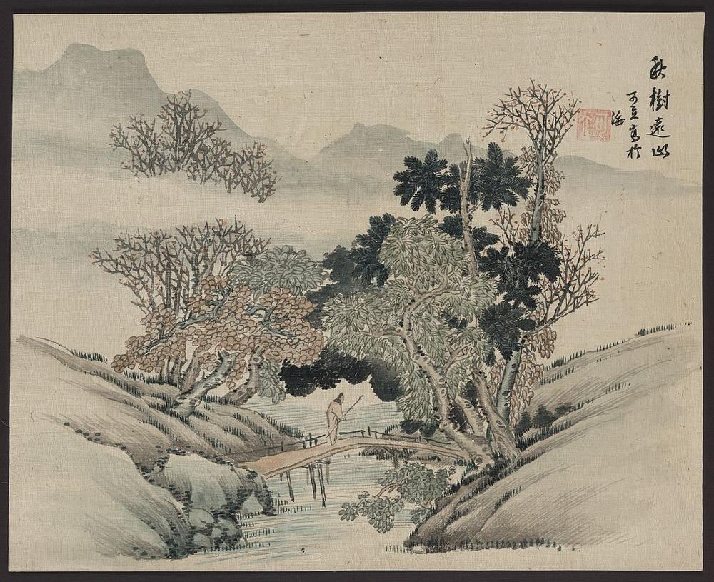 Более 2500 гравюр японских мастеров 1600-1915 годов можно скачивать бесплатно  12