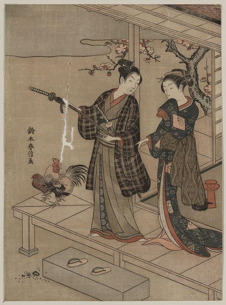 Более 2500 гравюр японских мастеров 1600-1915 годов можно скачивать бесплатно  13