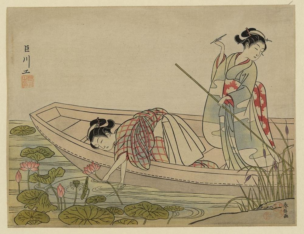 Более 2500 гравюр японских мастеров 1600-1915 годов можно скачивать бесплатно  16