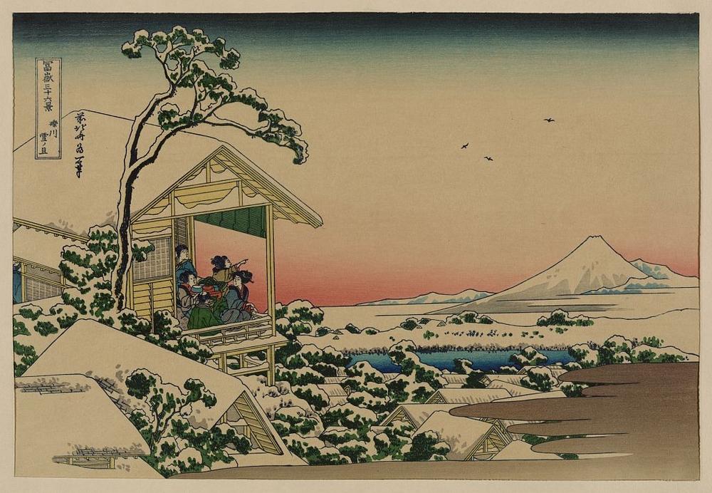 Более 2500 гравюр японских мастеров 1600-1915 годов можно скачивать бесплатно  19