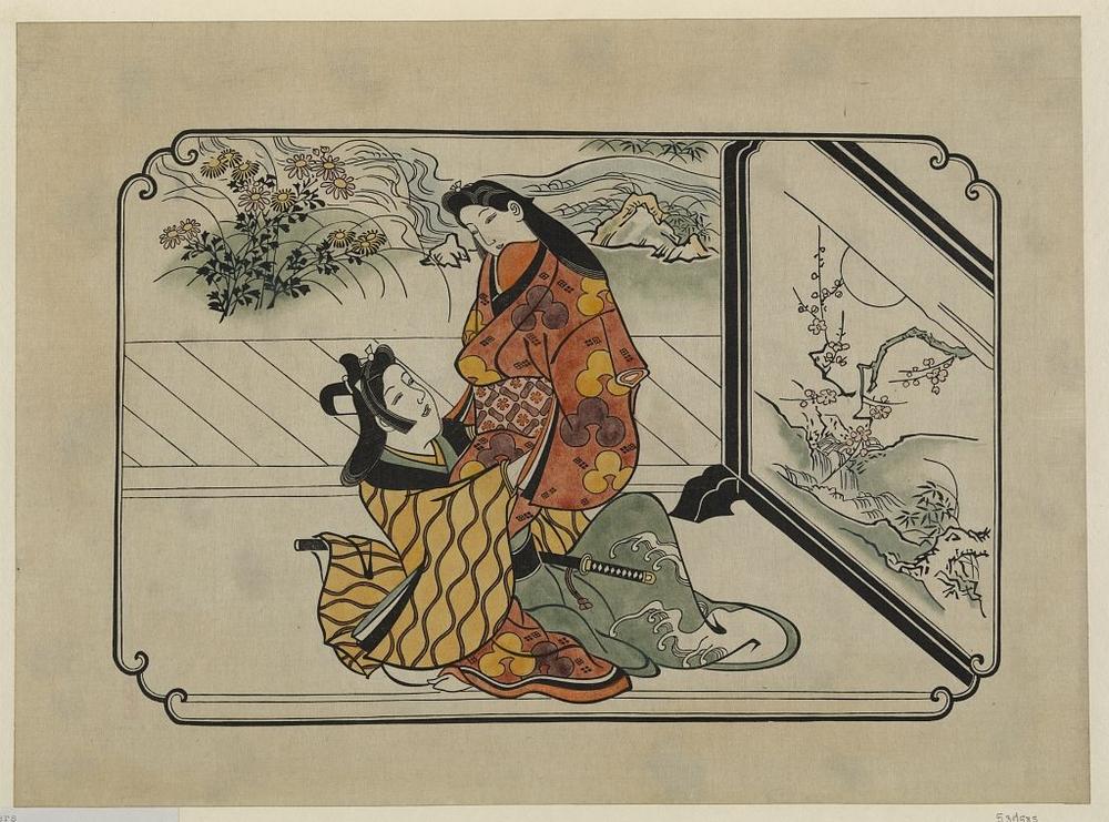 Более 2500 гравюр японских мастеров 1600-1915 годов можно скачивать бесплатно  2