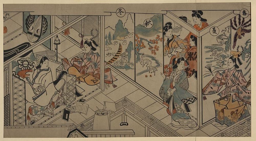 Более 2500 гравюр японских мастеров 1600-1915 годов можно скачивать бесплатно  7