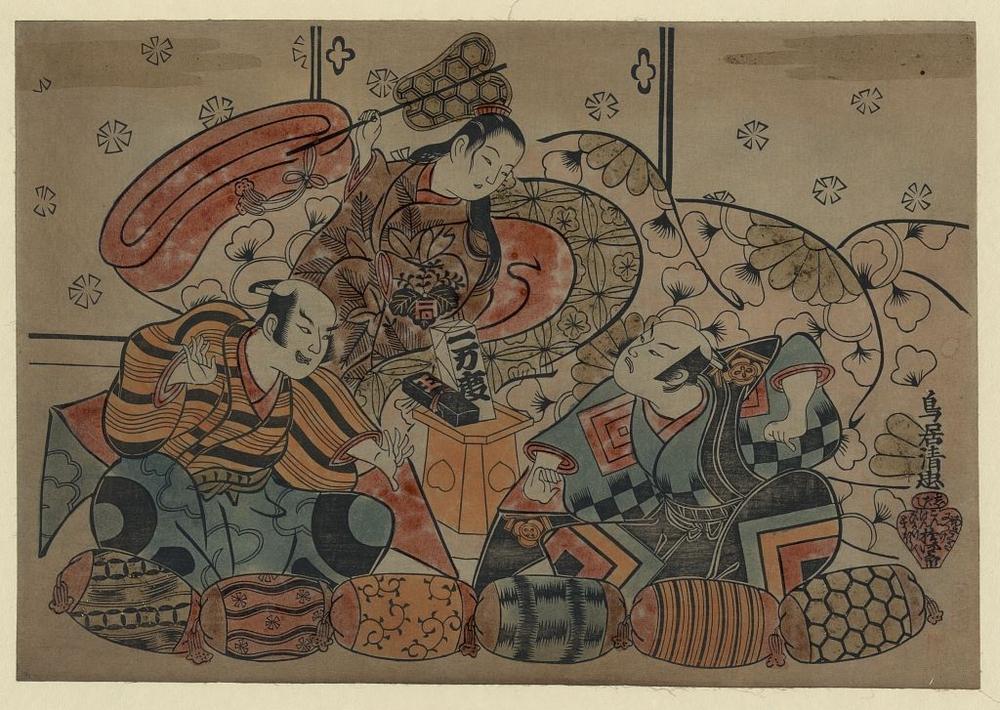 Более 2500 гравюр японских мастеров 1600-1915 годов можно скачивать бесплатно  8
