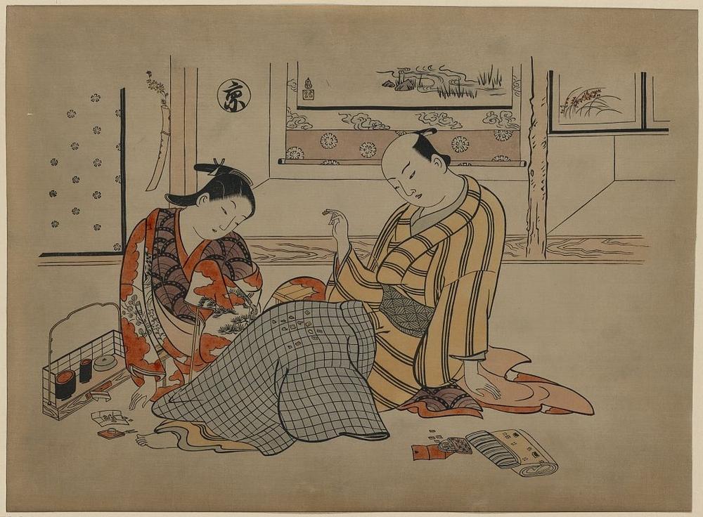 Более 2500 гравюр японских мастеров 1600-1915 годов можно скачивать бесплатно  9