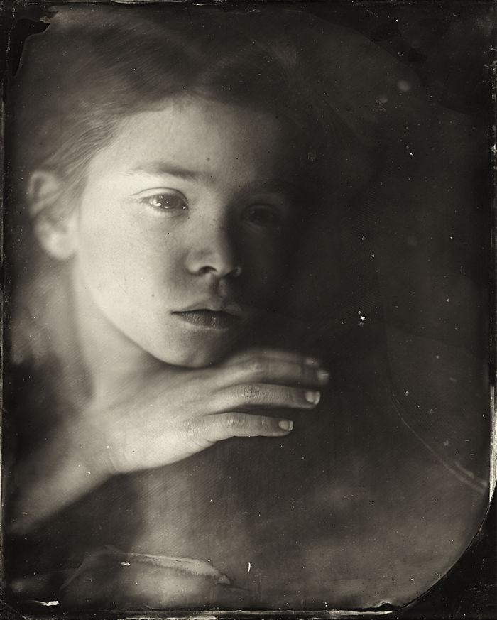Жаклин Робертс снимает портреты детей с помощью старинного фотопроцесса 1800-х годов  10