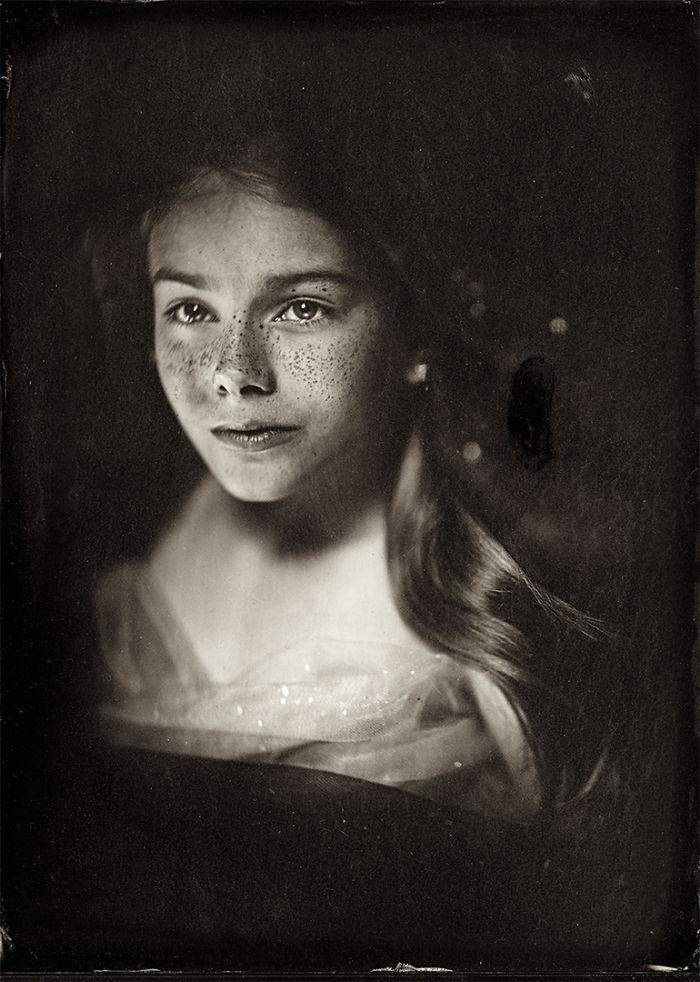 Жаклин Робертс снимает портреты детей с помощью старинного фотопроцесса 1800-х годов  11
