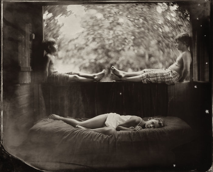 Жаклин Робертс снимает портреты детей с помощью старинного фотопроцесса 1800-х годов  12
