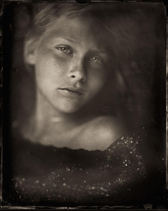 Жаклин Робертс снимает портреты детей с помощью старинного фотопроцесса 1800-х годов  13