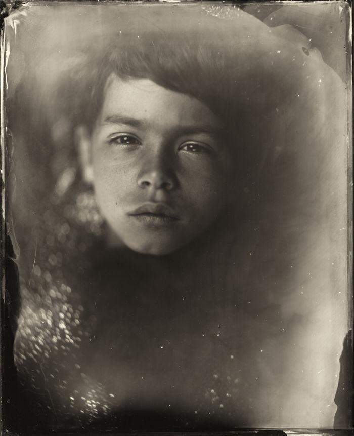 Жаклин Робертс снимает портреты детей с помощью старинного фотопроцесса 1800-х годов  14