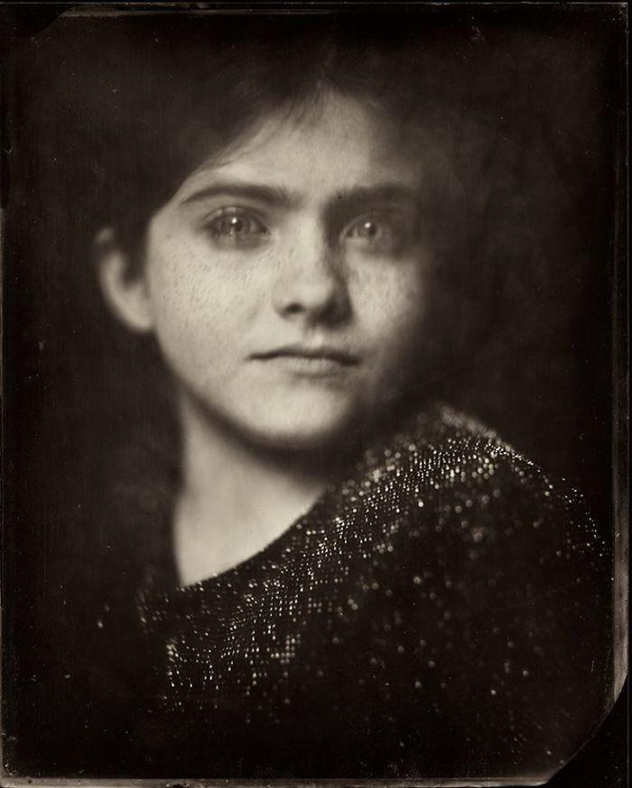 Жаклин Робертс снимает портреты детей с помощью старинного фотопроцесса 1800-х годов  15