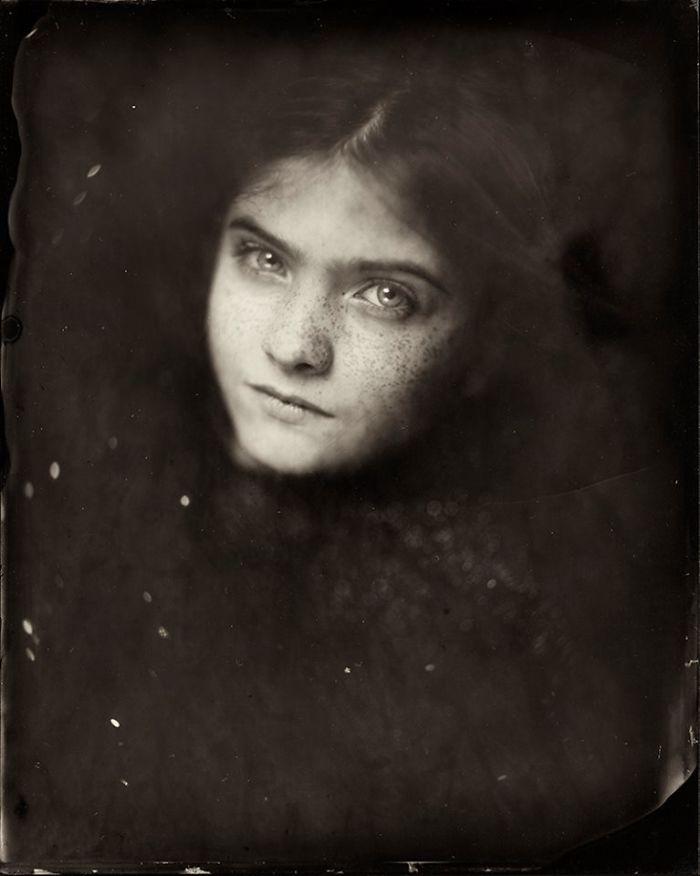 Жаклин Робертс снимает портреты детей с помощью старинного фотопроцесса 1800-х годов  16