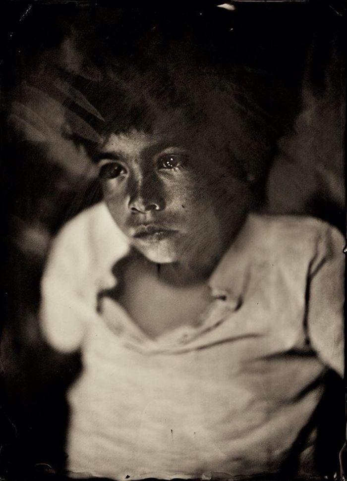 Жаклин Робертс снимает портреты детей с помощью старинного фотопроцесса 1800-х годов  17