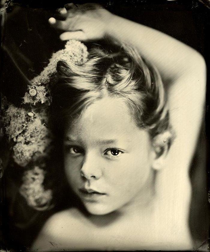 Жаклин Робертс снимает портреты детей с помощью старинного фотопроцесса 1800-х годов  19