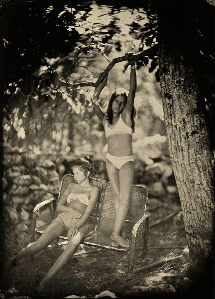 Жаклин Робертс снимает портреты детей с помощью старинного фотопроцесса 1800-х годов  22