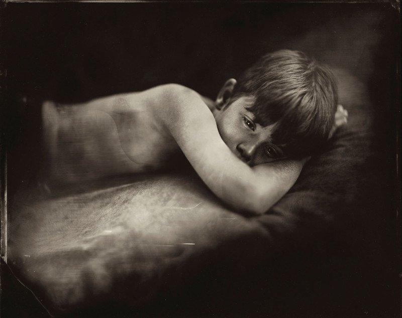 Жаклин Робертс снимает портреты детей с помощью старинного фотопроцесса 1800-х годов  3