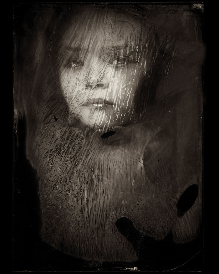 Жаклин Робертс снимает портреты детей с помощью старинного фотопроцесса 1800-х годов  5