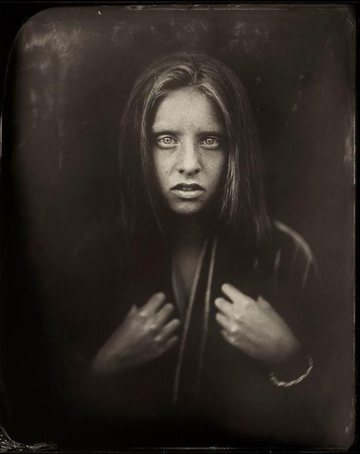 Жаклин Робертс снимает портреты детей с помощью старинного фотопроцесса 1800-х годов  6
