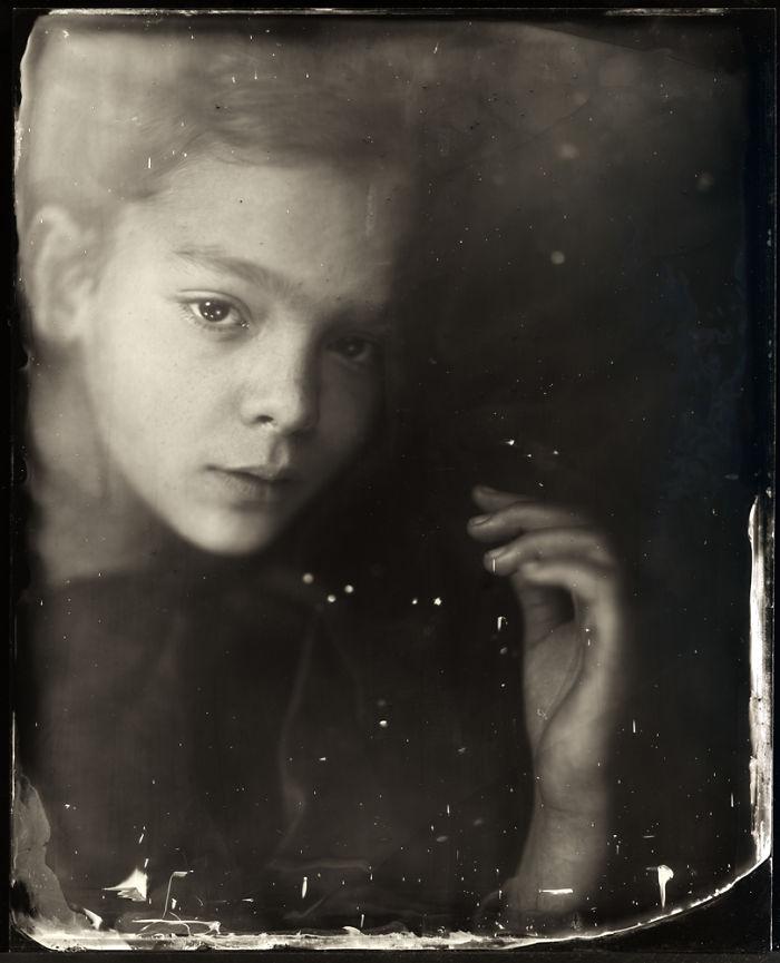 Жаклин Робертс снимает портреты детей с помощью старинного фотопроцесса 1800-х годов  7