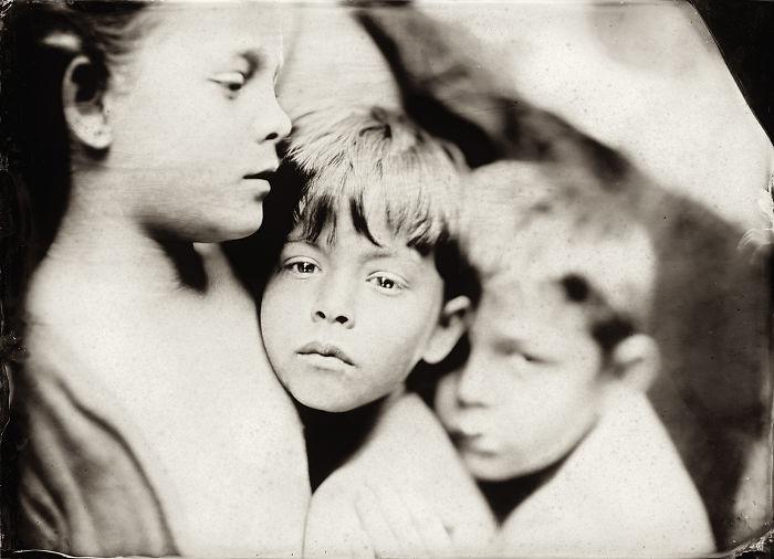 Жаклин Робертс снимает портреты детей с помощью старинного фотопроцесса 1800-х годов  8