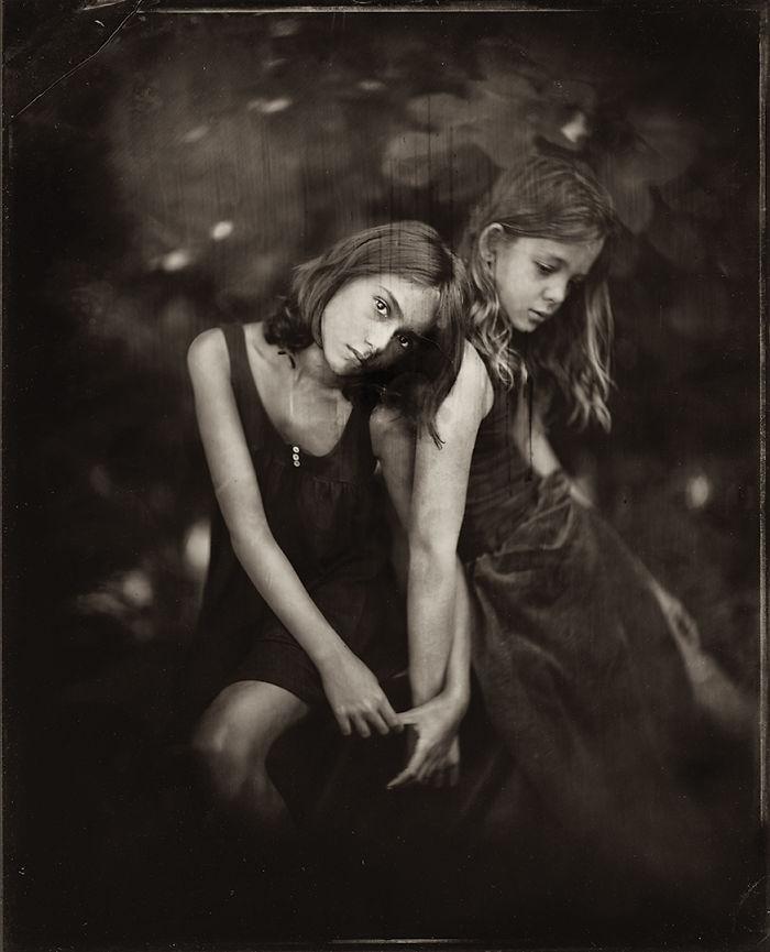 Жаклин Робертс снимает портреты детей с помощью старинного фотопроцесса 1800-х годов  9