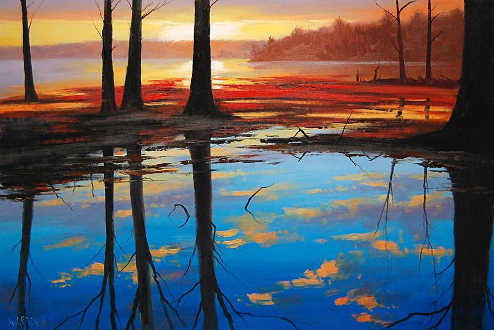 Австралийский художник Грэм Геркен пишет упоительные пейзажи любимого континента 2
