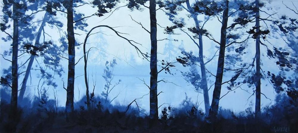 Австралийский художник Грэм Геркен пишет упоительные пейзажи любимого континента 4