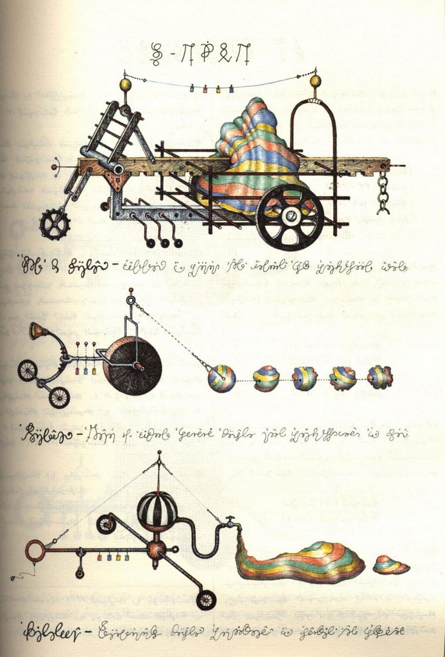 «Кодекс Серафіні» - сюрреалістична енциклопедія неіснуючого світу Луїджі Серафіні 10