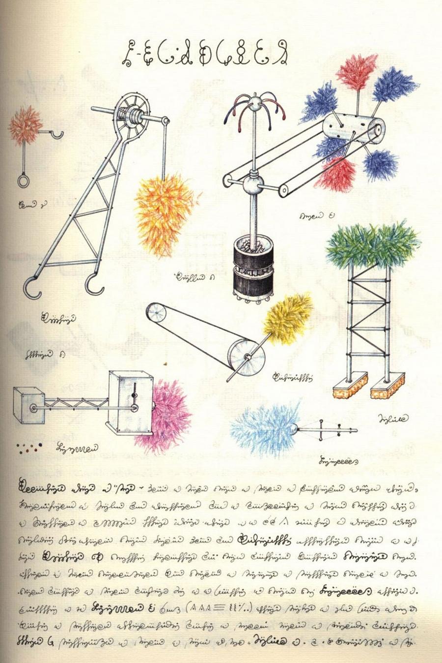 «Кодекс Серафіні» - сюрреалістична енциклопедія неіснуючого світу Луїджі Серафіні 12