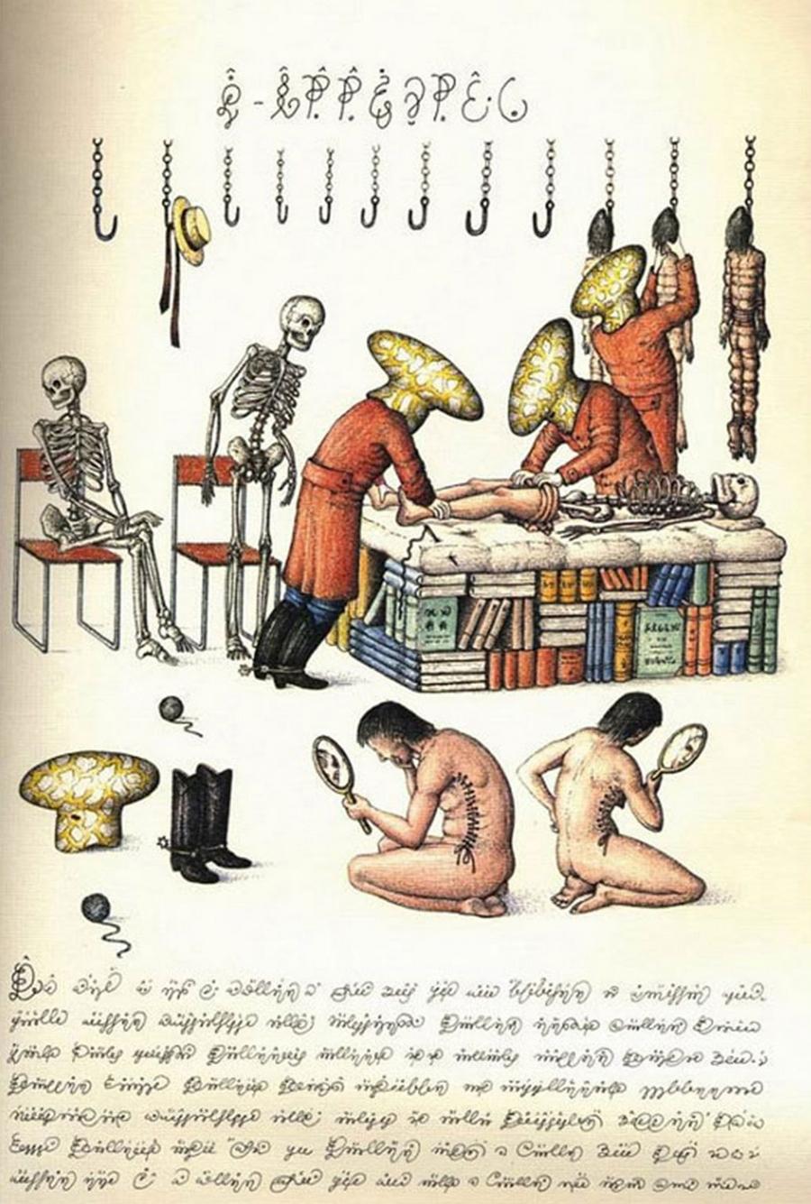 «Кодекс Серафіні» - сюрреалістична енциклопедія неіснуючого світу Луїджі Серафіні 26