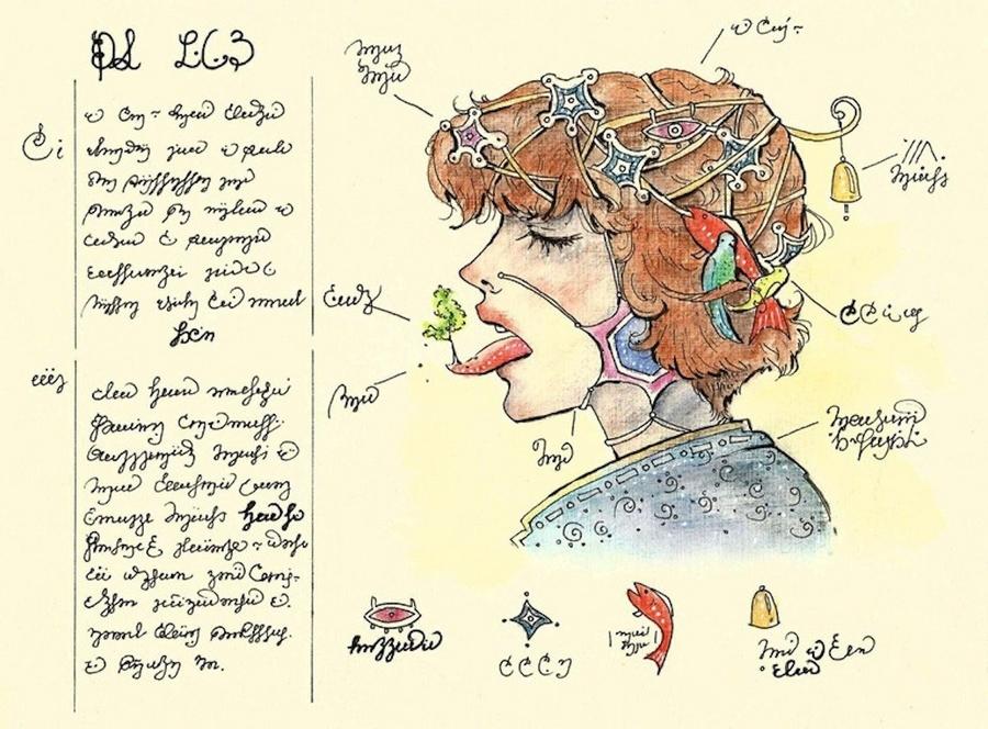 «Кодекс Серафіні» - сюрреалістична енциклопедія неіснуючого світу Луїджі Серафіні 8