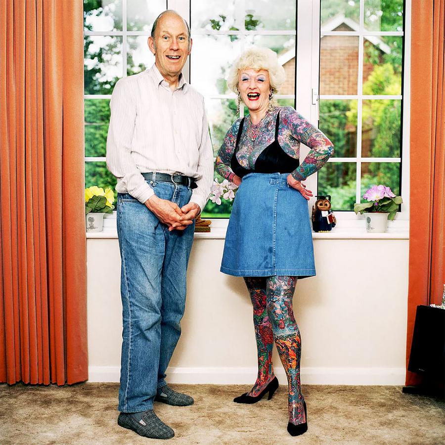 К чёрту возраст: фотопроект Мура Видлера о тех, кто вечно молод  1