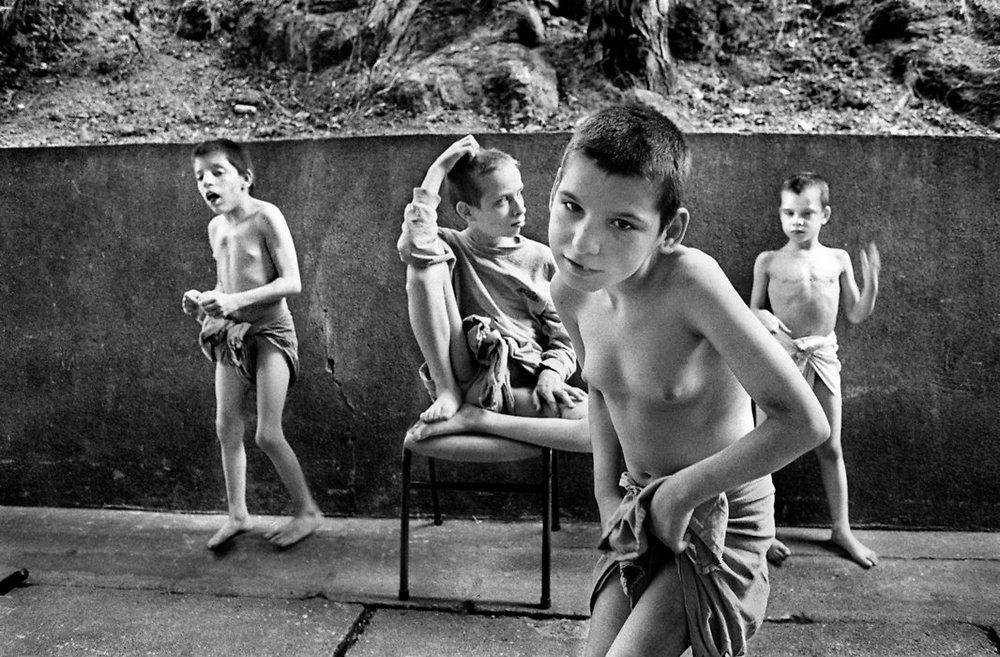 Ретро Натуристы Подростки