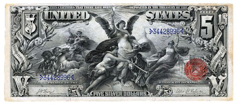 дизайн американских банкнот 10
